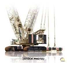 Demag 600 Ton Crane Load Chart Demag Cc 2800 600 Ton Lattice Boom Crawler For Sale Or Rent