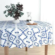 navy blue round tablecloth image 0 dark blue plastic tablecloth