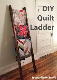 DIY Quilt Ladder || Gluesticks Blog | Make It! (DIY, not sewing ... & DIY Quilt Ladder - Step by step instructions on how to make your own display  for Adamdwight.com