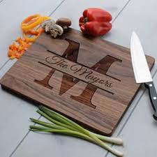 Personalized Cutting Board, Engraved Cutting Board, Custom Wedding Gift   Cb-Wal-