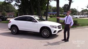 Then browse inventory or schedule a test drive. Brand New 2019 Mercedes Benz Glc300 Coupe 4matic Video Tour With Spencer Youtube