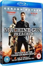 Machine Gun Preacher Blu Ray United Kingdom