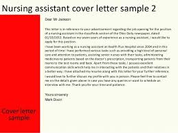 Nursing Assistant Cover Letter Cna Cover Letter Example Cover Letter