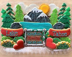 """Maryann Rollins on Instagram: """"Lake Tahoe themed cookie platter ..."""
