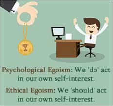 essay on psychological egoism