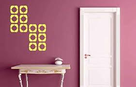 fashion frames stencil wall sticker