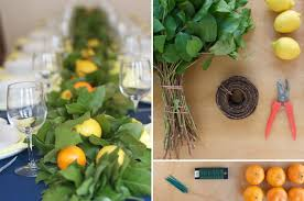 learn how to make your own lemon leaf garland on wedding project fall garland wedding centerpieces