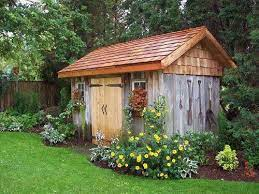 rustic shed shed landscaping