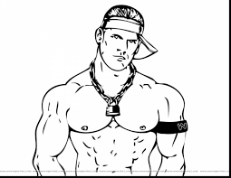 Small Picture awesome wwe john cena coloring pages with wrestling coloring pages