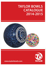 Taylor Ace Lawn Bowls Bias Chart Catalogue2014 By Mtcmedia Issuu