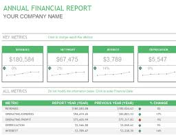 financial report template word annual financial report office templates