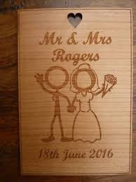 image is loading personalised 5th wedding anniversary wood card wooden anniversary