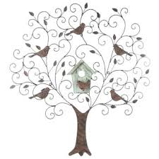 metal wall art birds get large metal wood tree wall decor with birds online or find on wooden tree wall art uk with metal wall art birds get large metal wood tree wall decor with birds