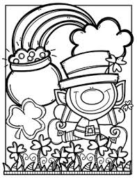 St Patricks Day Coloring Free St Patricks Day Coloring Pages Made By Creative Clips Clipart