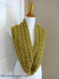 Crochet Infinity Scarf Pattern In The Round Simple Inspiration Ideas