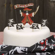 Pirate Themed Cake Decorations Pirate Cake Topper The Cake