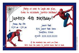 Free Templates For Invitations Birthday Spiderman Birthday Invitation Templates Free Yourweek e100eca100e 87