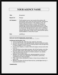 Warehouse Job Description Resume Sample Template For Sevte