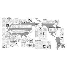 世界一周 ぬり絵の旅 Around The World Trip かわいい楽しいぬり絵ブック