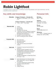 Student Resume Format Examples Book Or Retail Store Position
