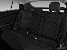 2016 toyota prius rear seat