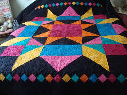 55 best Quilts-big blocks images on Pinterest | Patterns, DIY and ... & Large Swoon block quilt from batiks. Adamdwight.com