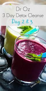 dr oz 3 day detox cleanse