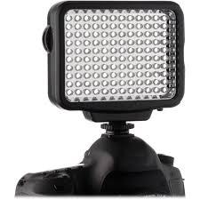 Led Light 120 Genaray Led 5300 120 Led Dimmable Compact On Camera Light