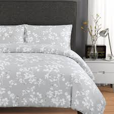 paloma by echelon home is a beautiful duvet cover set made with 300 thread count cotton sateen fabric in soothing shades of grey