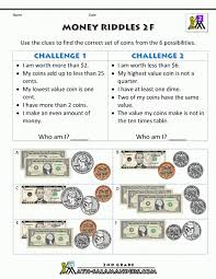 Kids. 3rd grade free printable worksheets: Money Worksheets Rd ...