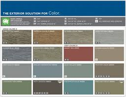 Mitten Siding Color Chart Mastic Color Chart Metal Related Keywords Suggestions