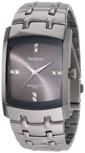 armitron mens 20 4507dsds swarovski crystal dial dark silver tone armitron mens 20 4507dsds swarovski crystal dial dark silver tone bracelet watch