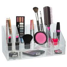 acrylic cosmetic organizer w removable drawers 19 partments perfect for nail polish jewelry lipstick makeup walmart
