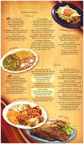 menu page 2 menu page 3