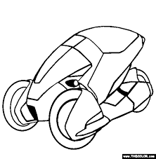 Supercars And Prototype Cars Online Coloring Pages Page 1