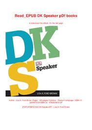 Speaker Design Book Pdf Read_epub Dk Speaker Pdf Books