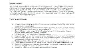 Accounts Clerk Resume Accounts Payable Responsibilities Resume Accounts Payable Specialist