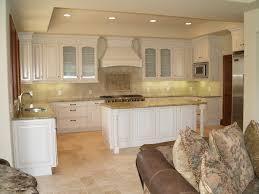 Travertine Tile Kitchen Floor Travertine Tile In Kitchen Amazone Beige Modular Tumbled Kitchen