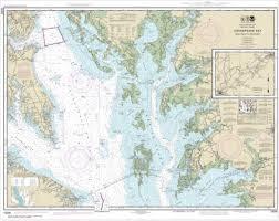 Chesapeake Bay Maps Charts Noaa Chart Chesapeake Bay Smith Point To Cove Point 12230
