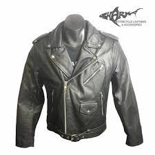 front front side back brando style cruiser leather jacket