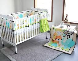 jungle crib bedding set new happy jungle animals friends baby bedding set crib set bed kit