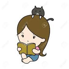 a small reading book cartoon stock photo 21082871