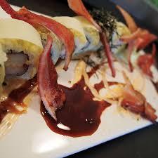 y bacon roll maru sushi grill