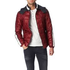 Armani jeans Quilted Padded Jacket in Purple for Men   Lyst & Gallery Adamdwight.com