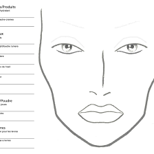 Face Charts For Sale One To One And Group Make Up Workshops Exeter Plymouth