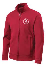 New Sport Tek Youth Sport Wick Fleece Full Zip Jacket