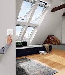 Velux Dachfenster Ggl 206621 Holz Integra Elektrofenster Weiß Lackiert