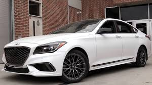 2018 genesis white. exellent genesis 2018 genesis g80 sport review on genesis white 8