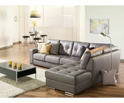Leather Sectional Living Room Artem Sofa 902511 Rs Grey Leather Sectional Need Lhf Living Room