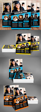 Graduation Flyer Template Graduation Flyer Template PSD Flyer Templates Pinterest Flyer 20